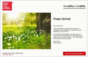 Spring e-Card